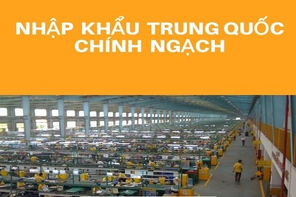 nhập khẩu trung quốc chính ngạch